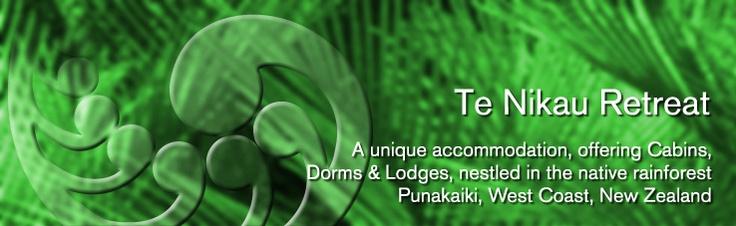 Te Nikau Retreat : Accommodation in Punakaiki, New Zealand