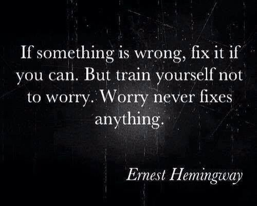 - Ernie Hemingway
