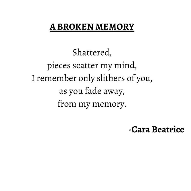 "13 Likes, 1 Comments - Cara (@carabeatrice) on Instagram: ""My poem ""A BROKEN MEMORY"" #poem #poems #love #life #loveandlife #poet #poetry #lovepoem #lovepoems…"""