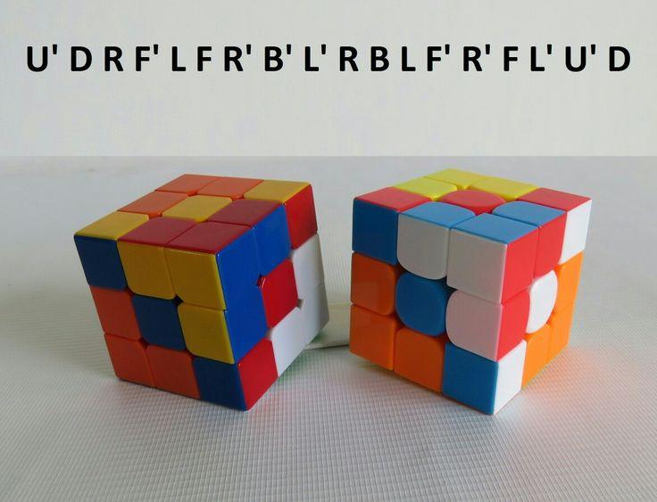 Patrones  RUBIK 3x3 Figura N.2 por WL Rubik 3x3
