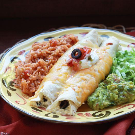 Sour Cream Chicken Enchiladas | food | Pinterest