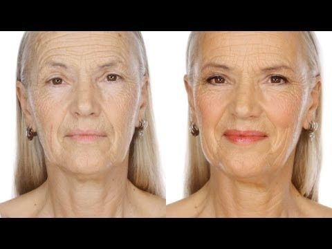 Glowing,Youthful Day Make-Up Look For Mature Skin Glowing, how to do a really great day look by ladies over 50. how to make skin look even and glowy without emphasising lines and how to get eye definition without a harsh end result. Here Lisa Eldridge demonstrate techinques