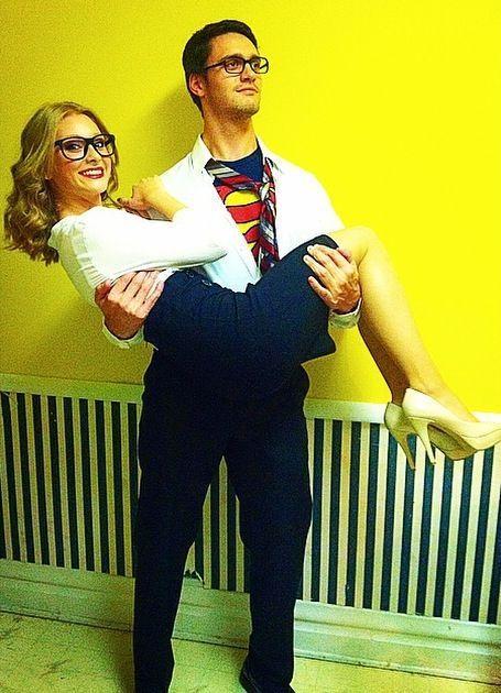 Clark Kent and Lois Lane!