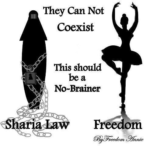 Sharia Law is part of Islam. Muslims teach that it is the duty of Muslims to force barbaric Sharia Law onto non-Islamic societies. It is NOT compatible with notions of human rights and political freedom.