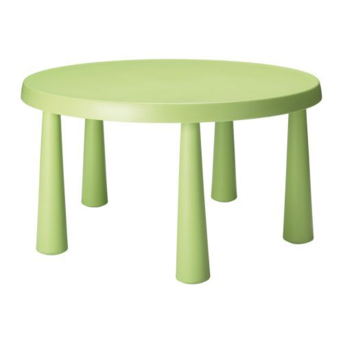 MAMMUT Childrens table IKEA Made of durable plastic that is easy to clean.