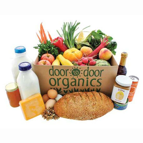 Organic Food Delivery: Online Grocers Bring Healthy Food to Your Doorstep http://www.motherearthnews.com/real-food/organic-food-delivery-zmgz13djzsto.aspx#axzz2xf91qHxB  Door to Door Organics: We partner with farmers to bring the freshest organic, local produce and the perfect selection of natural groceries right to your doorstep. www.doortodoororganics.com/‎