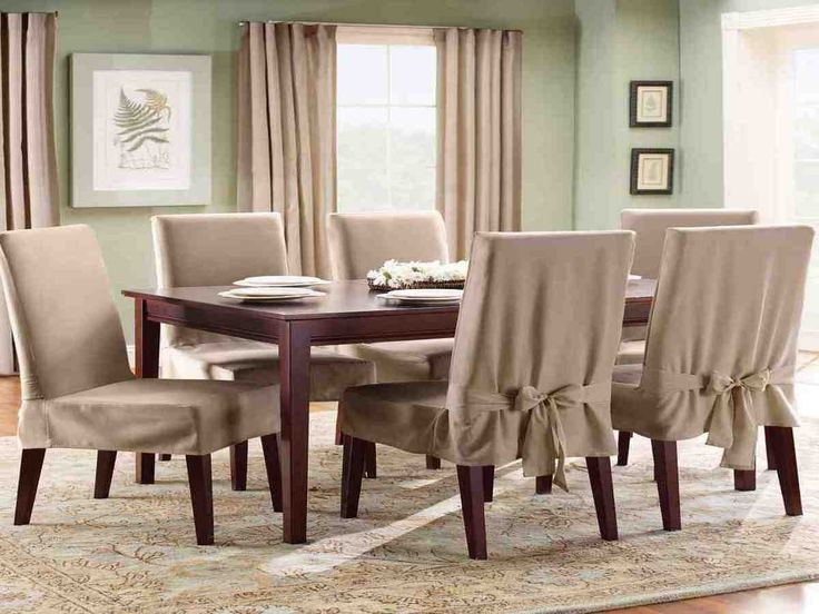 Dark Brown Dining Room Chair Covers