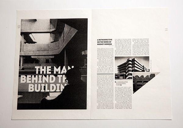 Brutalist Architecture Editorial on Behance