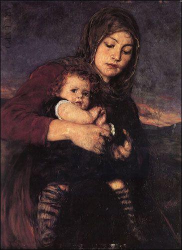 """""""Μάνα παιδί"""", Γύζης"""