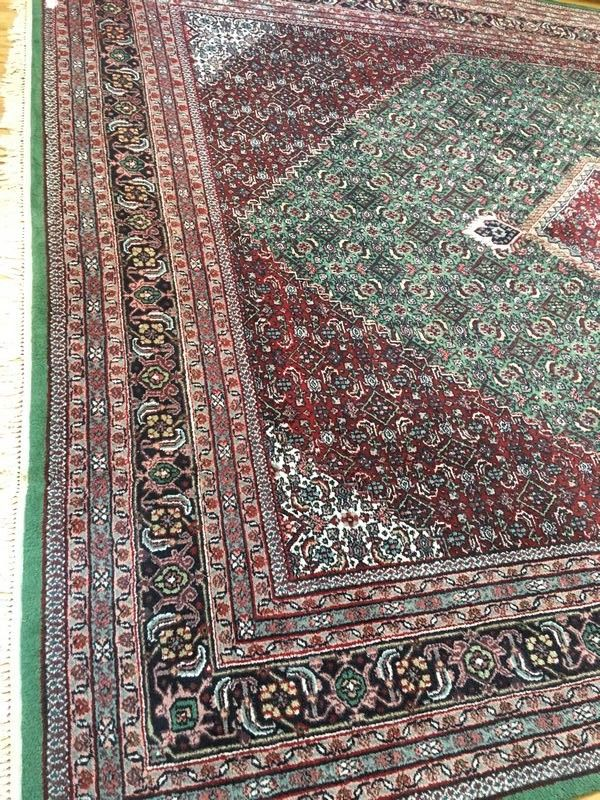 Very Large Area Rug Runner Area Rug Accented W Green And Maroon