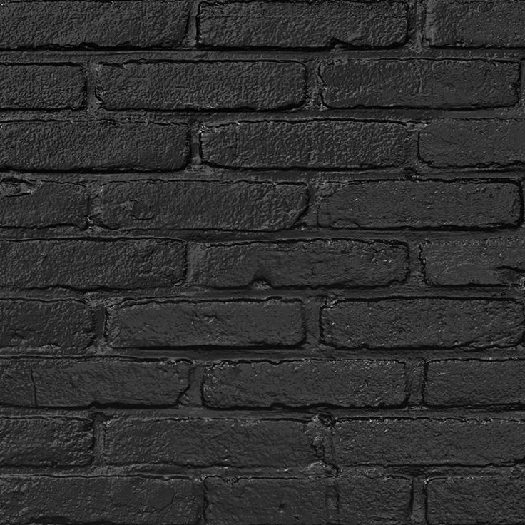 PHM-33 Black Brick Wallpaper - Piet Hein Eek in 2020 ...