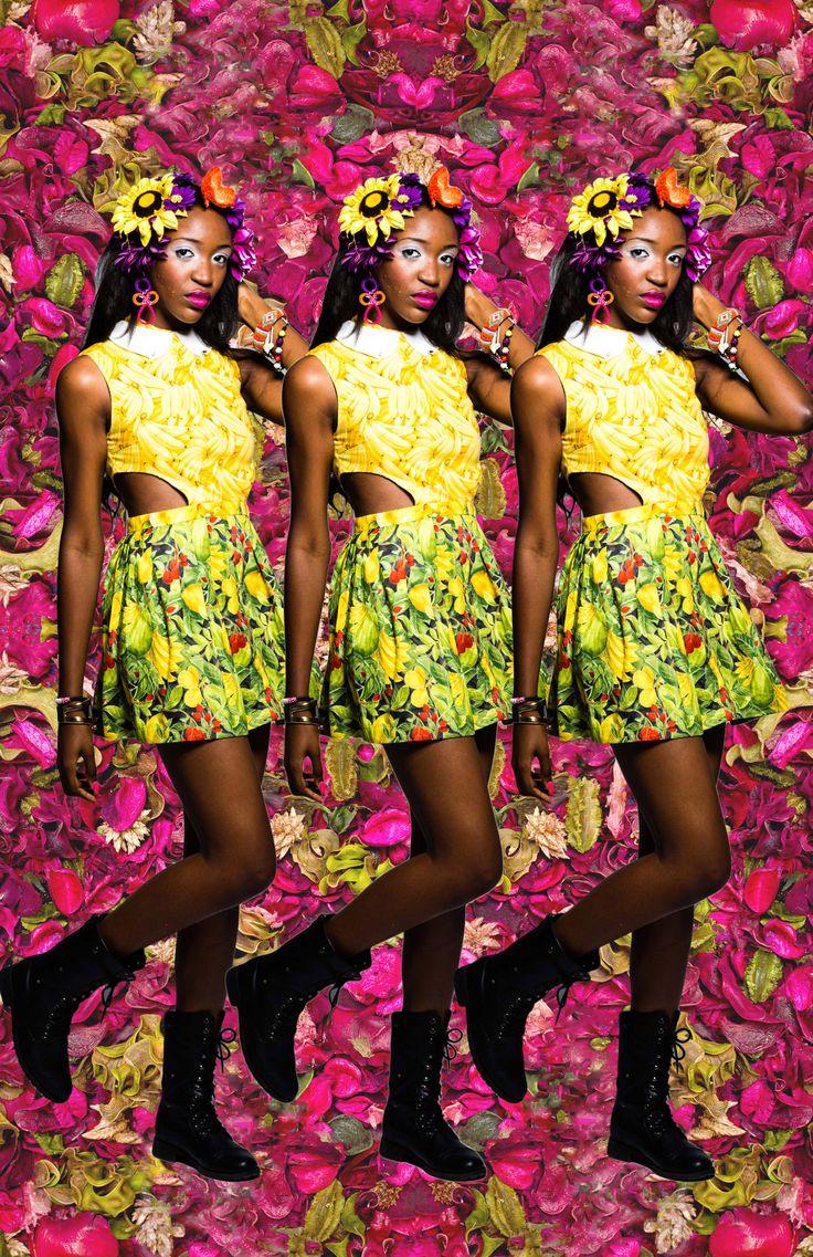 madebysoka:  soKa 2013 modeled by Nigerian Model Idia
