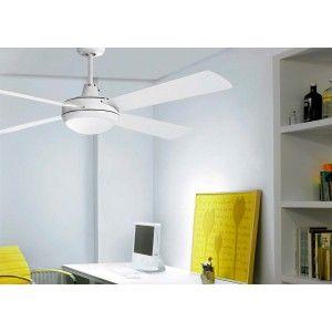 Ventilador de Techo con Luz y mando - ai24 BL