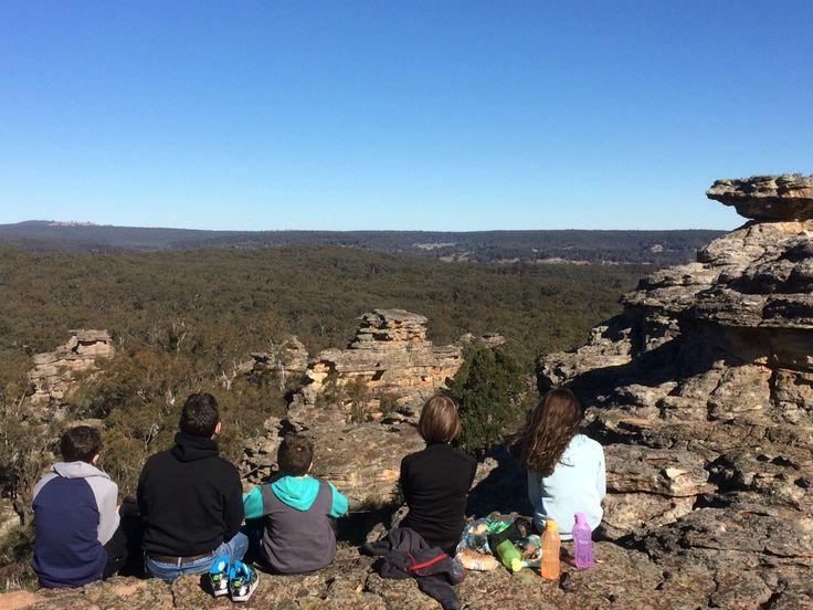 Munghorn Gap - castle rocks
