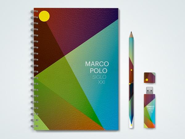 Marco Polo Siglo 21 by Gerardo Caballero, via Behance