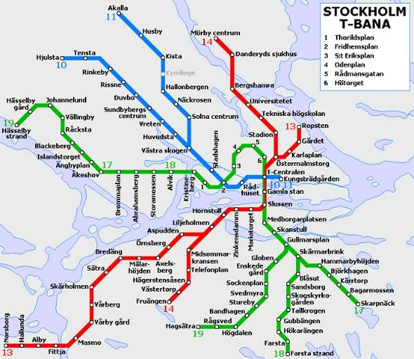 The Subway in Stockholm, Sweden Features Incredible Designs at Each Stop
