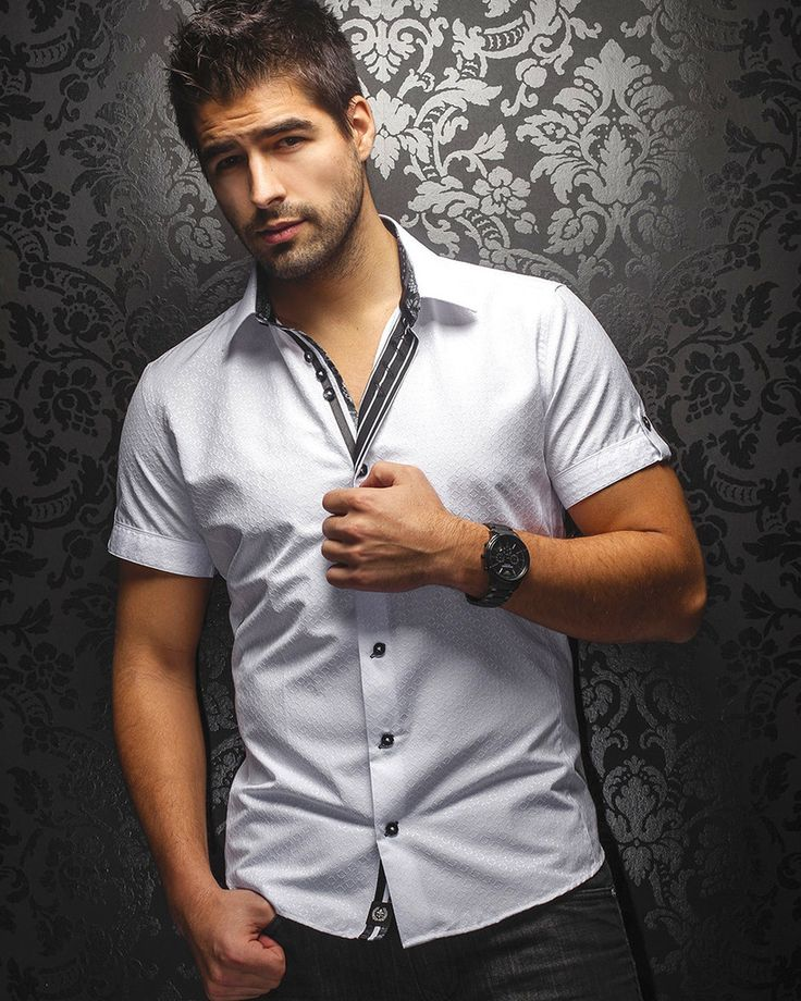 Au Noir Shirt - Galiano - White - SS