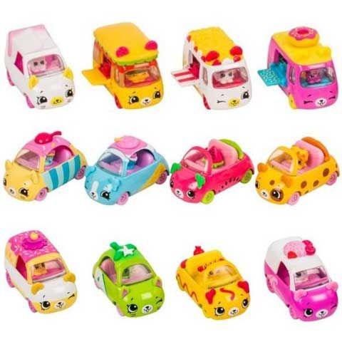 Shopkins: Cuki kocsi többféle változatban