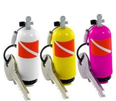 Scuba Tank Keychain Ships fast / Ships free from the USA Diving Scuba Dive