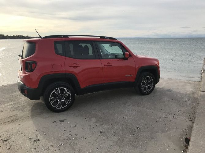 Rosierene S 2015 Jeep Renegade Limited With 255 55r18 Bfgoodrich