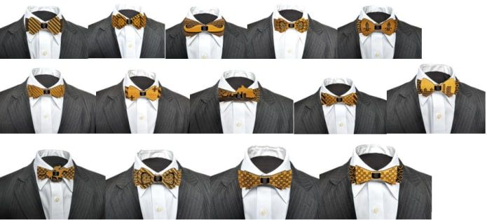 A Piece Of History - Wooden Bow Ties With A Twist | Indiegogo