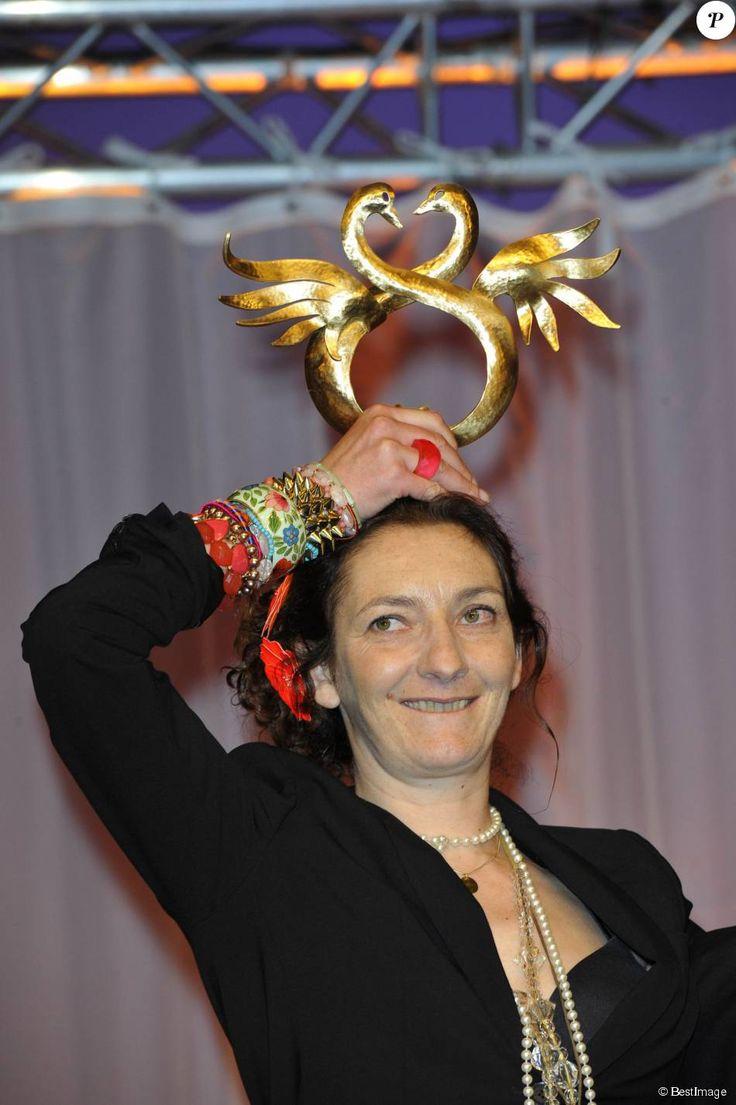 Corinne Masiero lors du Festival du film romantique de Cabourg le 16 juin 2012