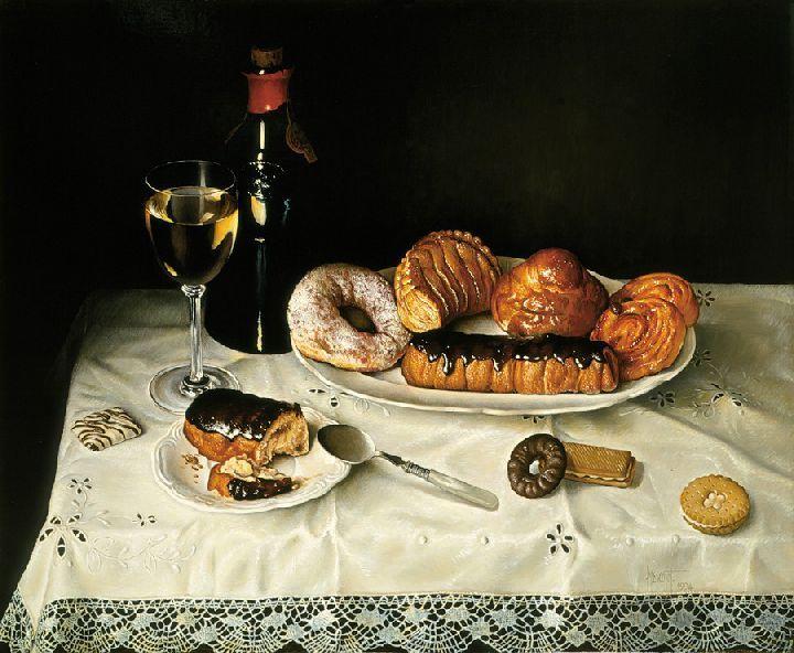 Jose Escofet / Cakes and wine