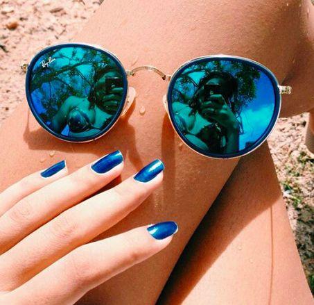 ☼ Ray-Ban 3517 folding sunglasses ☼ #sunglasses #holiday #fashion ☼ http://www.discountedsunglasses.co.uk/ray-ban-round-folding-3517-sunglasses.html