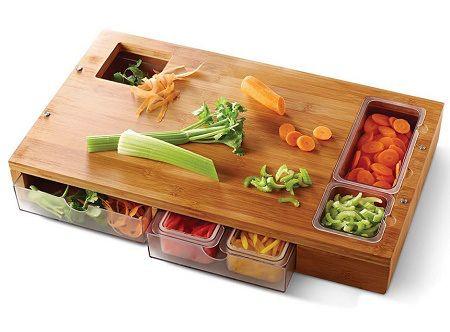 The Sous Chef Prep Station helps you keep food organized einfach praktisch