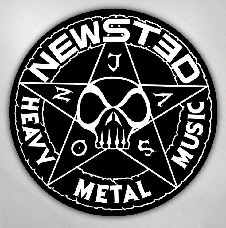 Tinman Merchandising : Jason Newsted - Star Logo round sticker [JNE4004] - $1.99
