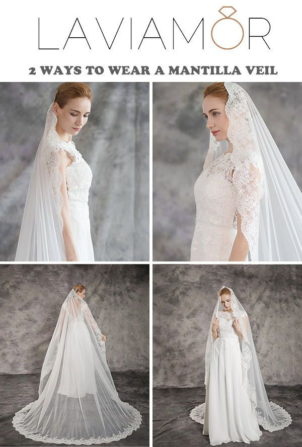 Spanish Mantilla Wedding Veils Wedding Hairstyles With Veil