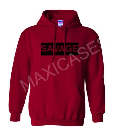 Savage logo Hoodie Unisex Adult size S – 2XL