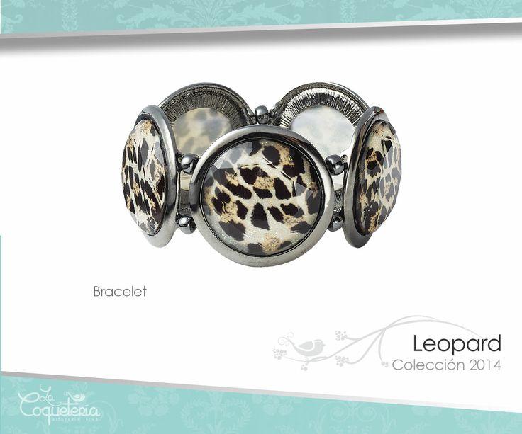 Brazalete ajustable conformado por múltiples discos con estampado de leopardo.  www.lacoqueteria.co #bracelet #brazalete #accesories #beautiful #lacoqueteria #fashion  #shoppingonline #tiendaenlinea #mexico #accesorios #moda #monterrey #merida #vestidos #joyeria #bisuteria #boda #tendencias