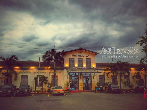 Railway Station Photostock Downloadable by SikilTraveler on Etsy