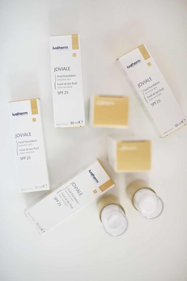JOVIALE Fluid foundation SPF 25 by Ivatherm