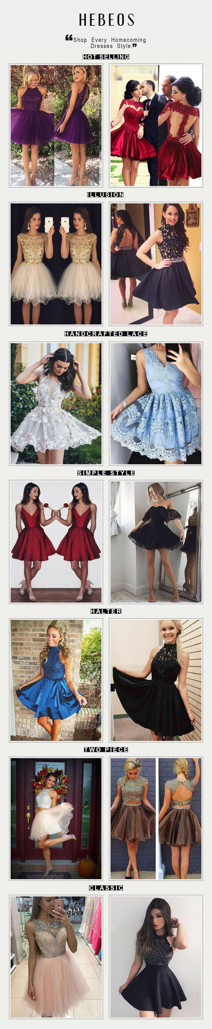 #Homecoming dresses on back to school sale! Black/ lace/short formal gowns under $120. via Hebeos.com