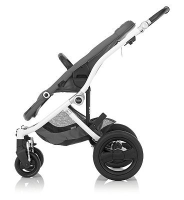 Britax Affinity Pushchair - White Chassis 10150966 1500 Advantage card points. Britax Affinity pushchair features: Fully reversible seat unit with multi-position recline Rearward and forward facing seat Lightweight aluminium chassis Compact fold lock  http://www.MightGet.com/april-2017-1/britax-affinity-pushchair--white-chassis-10150966.asp