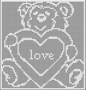 VALENTINE BEAR CROCHET AFGHAN PATTERN