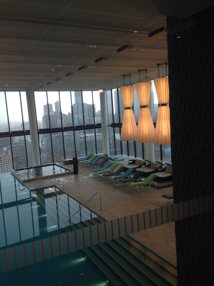 Indulgent pool at Crown