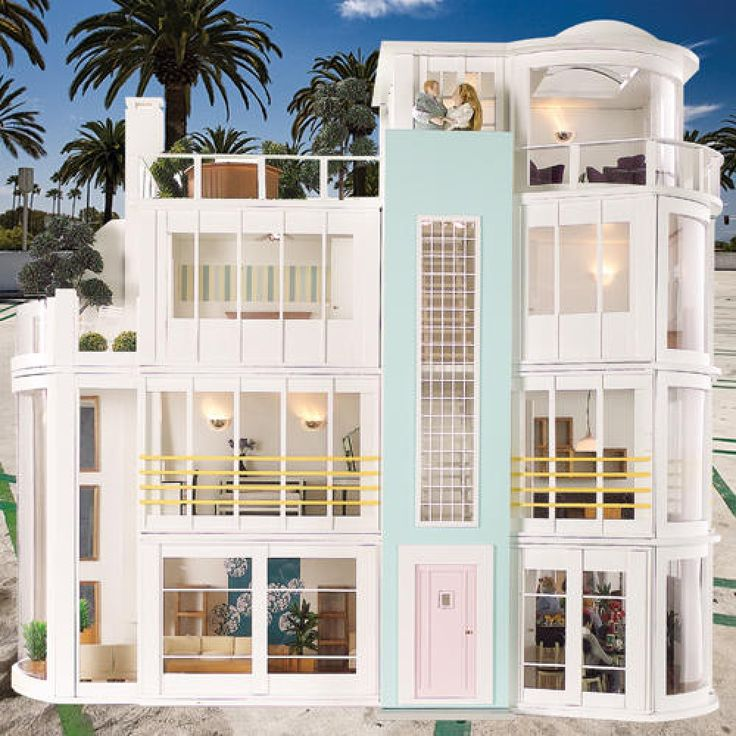 17 Best Images About The Hippest Modern Dollhouses And