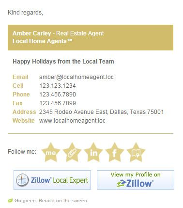 how to make html email signature
