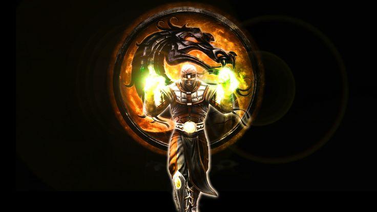 New Mortal Kombat Character Dragon Magic Fire Wallpaper « Kuff Games