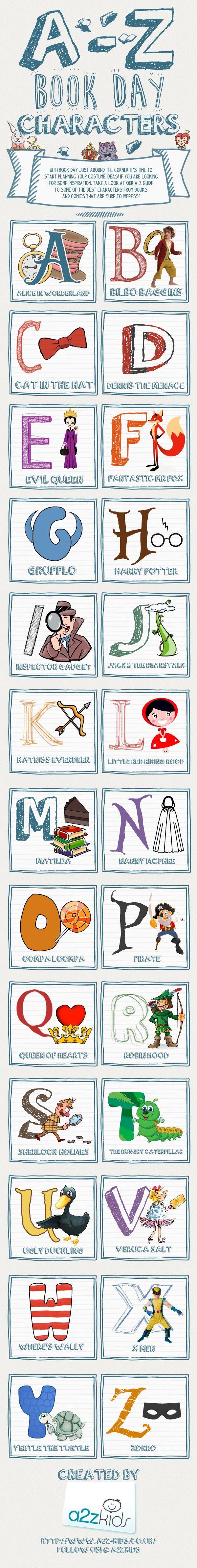 Fabulous Ideas For World Book Day including fancy dress ideas