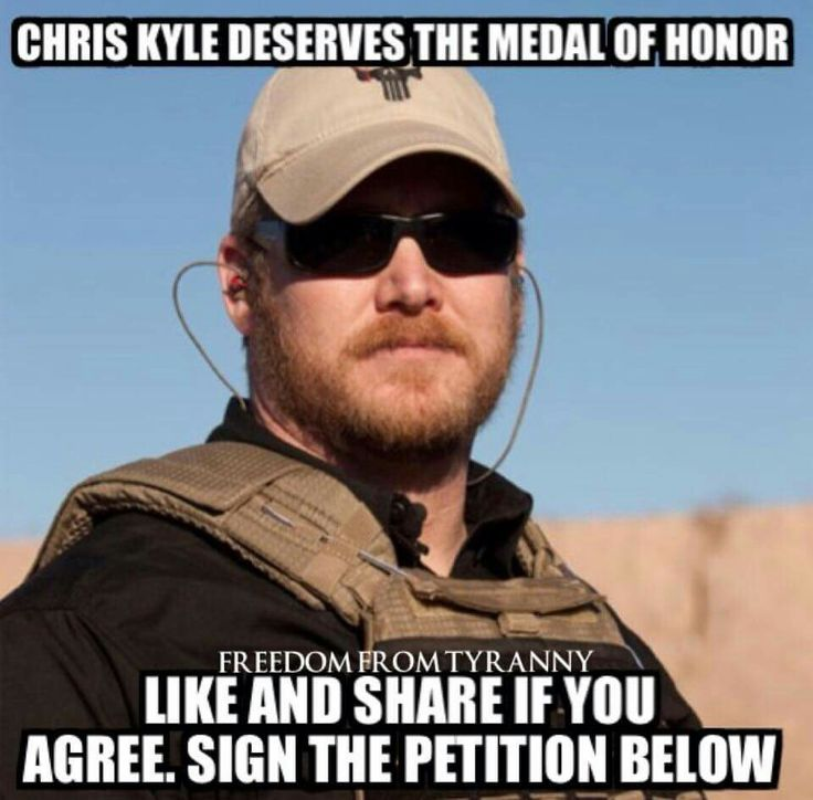 If Chris Kyle doesn't deserve it nobody does... Let's do our best to let his family KNOW that Chris Kyle is A TRUE HERO #chriskyle thanks for everything you gave