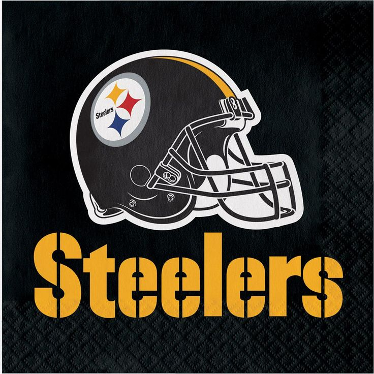 (192/case) Pittsburgh Steelers Lunch Napkins, 2 Ply