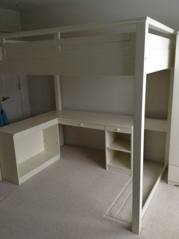 Loft Bed Desk Combo Woodworking Projects Amp Plans
