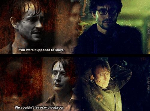 For you I'd forgo it all… my life… my freedom. Hannibal edit. Source: lethal-desires.tumblr