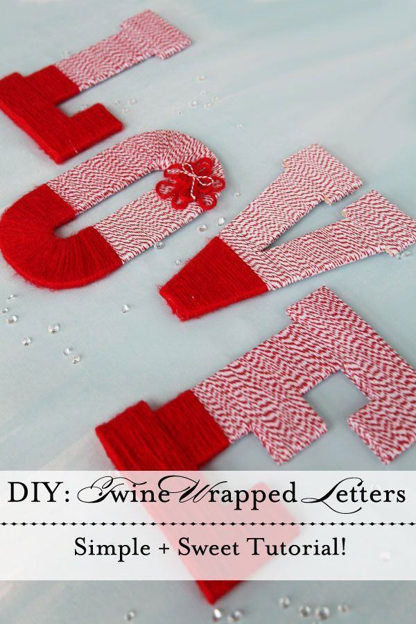 Get the Look Whimsical DIY Twine Wrapped
