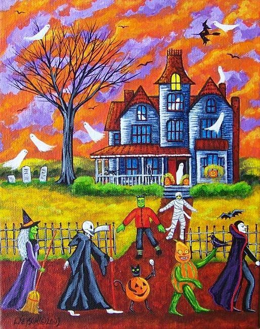 Don't be Late for the Halloween Parade