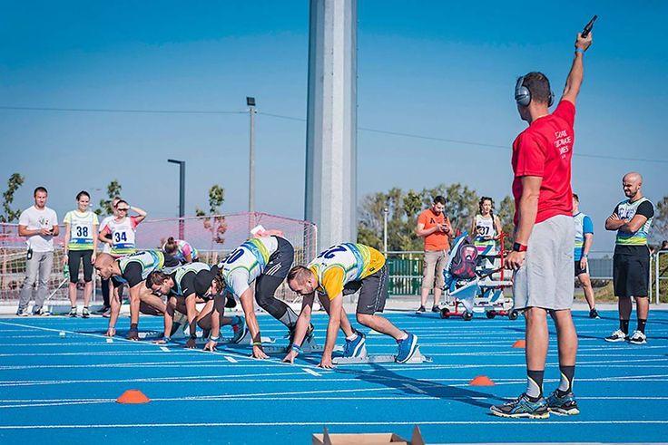 First time running athletic competition @slovenskefiremnehry . . . . . #xbionic #athlete #athletic #athletictraining #runner #sprint #goal #stadium #eventovyfotograf #sportovyfotograf #magastudiosk #firemnyevent #fotografnaevent #fotografnaeventy